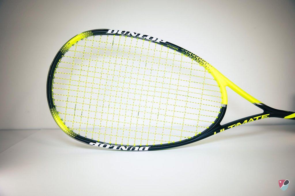 raquette de squash dunlop ultimate precision hyperfibre Diego Elias