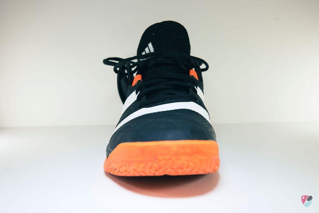 avant de la chaussure squash adidas Stabil X