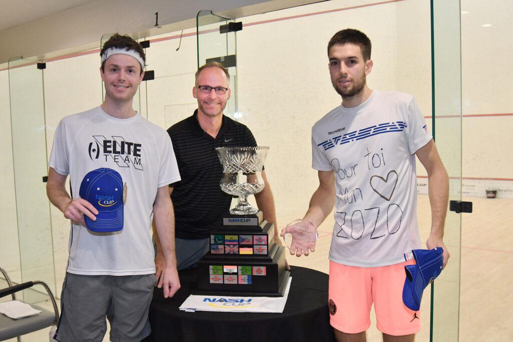 Auguste Dussourd gagne le trophée de la Nash Cup au Canada